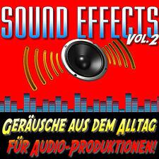 Sound Effects Vol 2 - Geräusche aus dem Alltag für Audio-Produktionen