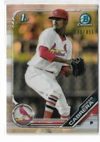 2019 Bowman chrome prospects refractor Parallel Genesis Cabrera 340/499