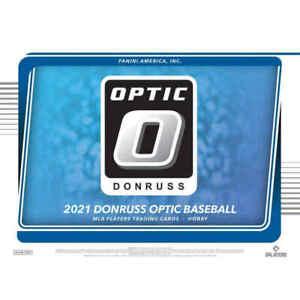 KANSAS CITY ROYALS 2021 PANINI DONRUSS OPTIC BASEBALL 1/2 CASE 6BOX TEAM BREAK 4