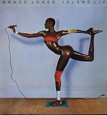 "LP 12"" 30cms: Grace Jones: island life. island. F"