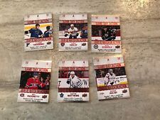 Game Day Action LOT Matthews Scheifele Ekblad Tarasenko  Tim Hortons 2017-18