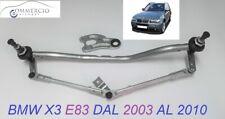 Tandem Meccanismo Tergiparabrezza BMW X3 E83 dal 2003 al 2010 OE 61617051669