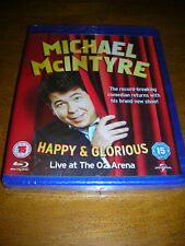 MICHAEL McINTYRE - HAPPY AND GLORIOUS LIVE AT THE O2 ARENA - SEALED BLU RAY DISC