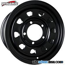 Dynamic Black Sunraysia 'D Window' Wheel Rim 16x7 5/165.1 +20 for Landrover