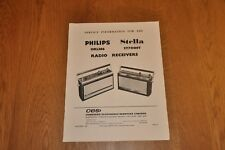 Philips 13RL386 Stella ST7008T Portable Radio Workshop Service Manual