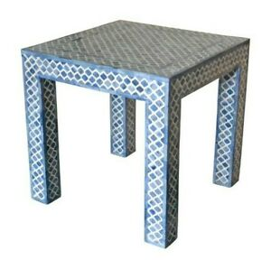 Indian Luxury Mughal Design Bone Inlay Center Table / Coffee Table