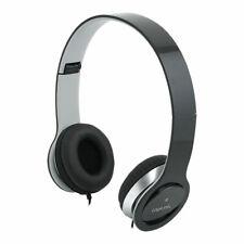 Headset Stereo Mikrofon Kopfhörer Overear PC Smartphone Computer Laptop Schwarz