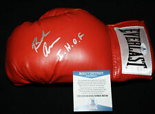 Bob Arum signed & inscribed laced boxing glove, Ali, Pacquiao, Beckett BAS