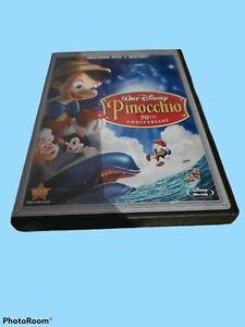 Walt Disney Pinocchio 70th Anniversary Platinum Edition DVD + Blu-Ray Preowned