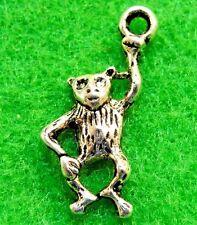 20Pcs. Tibetan Silver  MONKEY  APE  Animal Charms Pendants Earring Drops AN134
