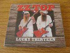 CD Album: ZZ Top : Lucky Thirteen : Live Passaic New Jersey 1980 : Sealed