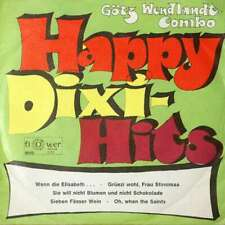 """Götz Wendlandt-Combo - Happy-Dixi-Hits / Oh, When  7"""" Vinyl Schallplatte - 6606"""