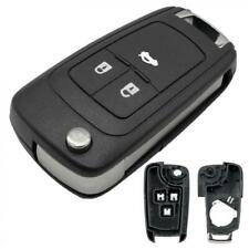 3 Button Remote Flip Car Key Fob Case Cover Fit For Vauxhall/Opel/Astra/Insignia