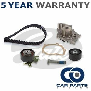 Gates Timing Belt + Water Pump Kit Fits Ford Peugeot Volvo Citroe... - GAT6376