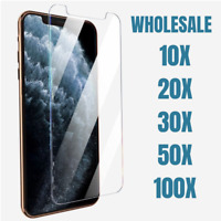 Wholesale Screen Protector Clear Tempered Glass For iPhone 12 11 Pro Max XR 8 7