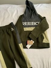 Boys size 4 Reebock sweatpants and sweatshirt