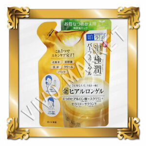 Japan Rohto Hadalabo Gokujyun All in one Rich Perfect Gel Refill 80g F/S