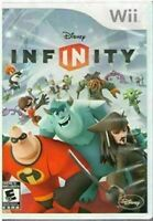DISNEY INFINITY - NINTENDO WII - DISC IS MINT - GAME ONLY