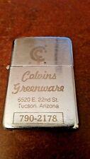 Hi-Lite Lighter ad- Calvins Greenware, Tucson Arizona, Working Condition