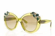 ☀️ Jimmy Choo Megan/S W49 New Authentic Sunglasses 53-20-140 Italy