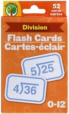 Teaching Tree Language Skills 52 Flash Cards in DIVISION for 0-12