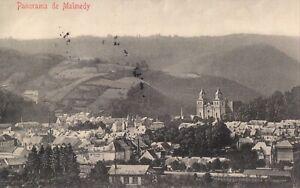 AK MALMEDY, Panorama 1914