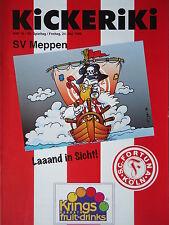 Programm 1995/96 SC Fortuna Köln - SV Meppen