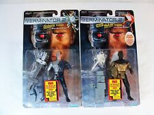 KENNER TERMINATOR 2 EXPLODING & WHITE HOT T-1000 ACTION FIGURE LOT MOC'S