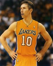 5676a891323 STEVE NASH LOS ANGELES LAKERS 8X10 SPORTS PHOTO (U)