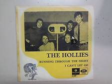 "HOLLIES:I Can't Let Go-Running Through The Night-Sweden 7"" Parlophone R 5409 PSL"