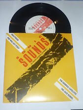 """Sonic Sounds 1 - 1987 UK 4-track 7"""" vinyl EP - Issued with Sounds Magaz"""