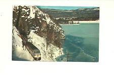 C.P.R. LOCOMOTIVE, JACKFISH BAY, ONTARIO, CANADA CHROME POSTCARD TRAIN RAILWAY