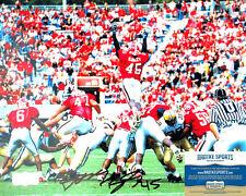 "Boss Bailey Autographed/Signed Georgia Bulldogs 8x10 Ncaa Photo ""Jumping"""