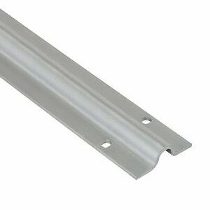 Flache Bodenlaufschiene zum aufdübeln für Schiebetore Torschiene EDELSTAHL|Stahl