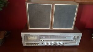 SOUNDESIGN 5844 8 Track Player / Cassette / Receiver. Vintage. 1970s