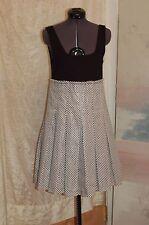 28aa2378c6 Alice + Olivia Black and White Sleeveless Dress Size S