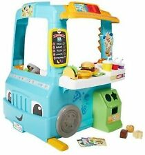 DYM74 Servin' up Fun Food Truck Laugh Learn for Children Pretend Cooking Play
