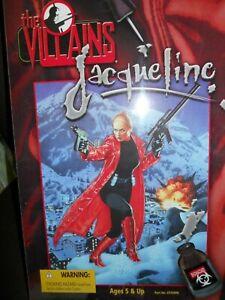 """21st Century Toys The Villains """"JACQUELINE"""" 12 Inch Action Figure, NIB"""
