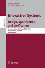 Interactive Systems Design, Specification, and Verification|Broschiertes Buch