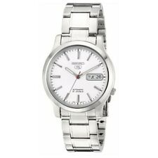 Seiko 5 Automatic White Dial Stainless Steel 38mm Men's Watch SNK789K1 RRP £169