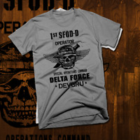 Army Special Forces Delta Force T-Shirt Airborne Paratrooper DEVGRU Combat Vet