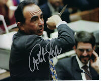 ROBERT SHAPIRO O.J. SIMPSON TRIAL LAWYER SIGNED AUTHENTIC 8X10 PHOTO w/COA