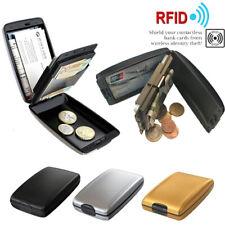 RFID Anti-Theft Blocking Hard Case Wallet Credit Card  Aluminum Storage Holder