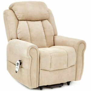 Cromwell Dual Motor Electric Riser Recliner Chair with Heat and Massage