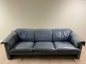"""Niels Eilersen """"Arizona"""" Leather Sofa"""