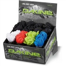 """DAKINE Oval Snowboard Boot Laces - 228cm Long 90"""" - Assorted Colours"""