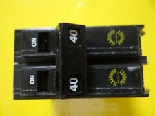 Used Chq Classified Breaker 606940 Double Pole 40 Amp 240 Volt Type Hacr