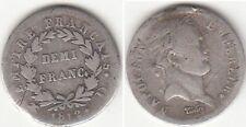 Monnaie Française Demi-Franc argent Napoléon I 1812 D