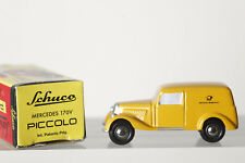 Dickie SCHUCO PICCOLO 1:90 Mercedes 170V - Deutsche Bundespost, in OVP (84153)