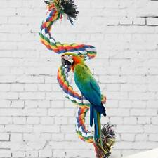 Parrot Swing Chew Toy Rope Bite Toys For Bird Budgies Parakeet Rope